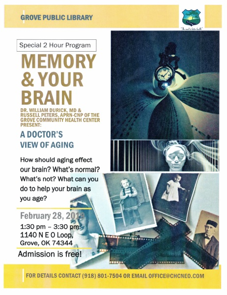 Memory & Your Brain a Dr.s View on Aging